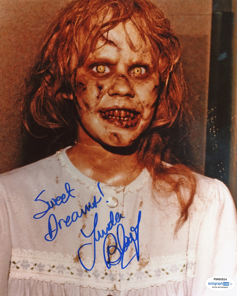 Linda Blair Signed Photo