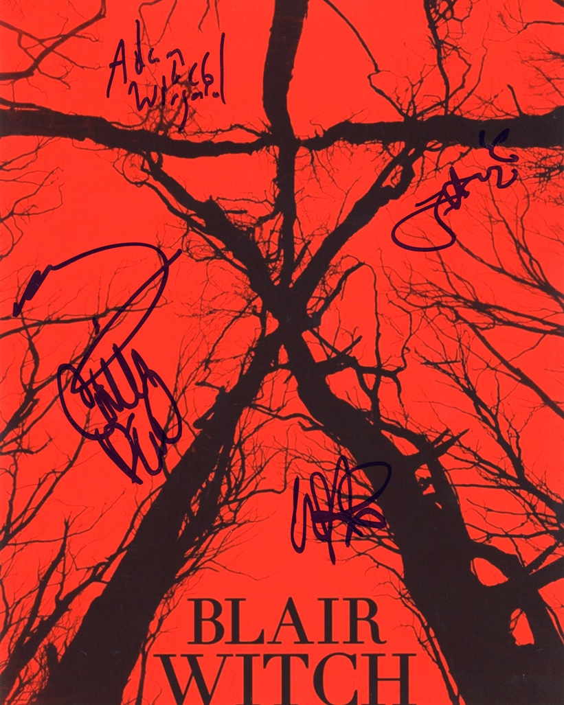 Blair Witch Signed Photo