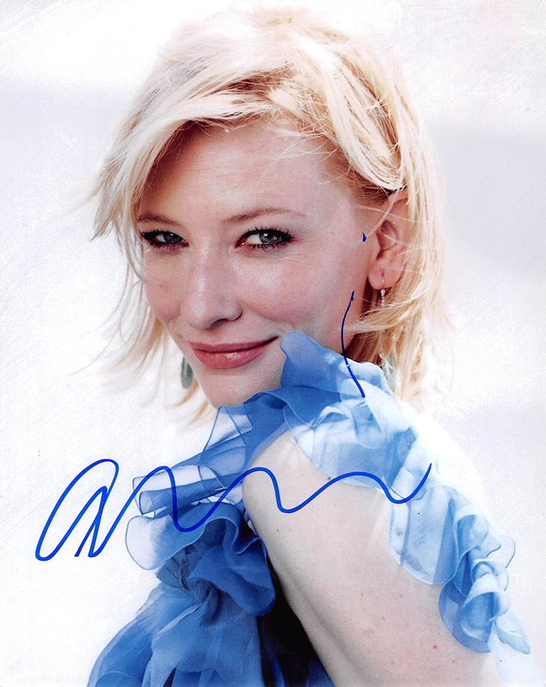 Cate Blanchett Signed Photo