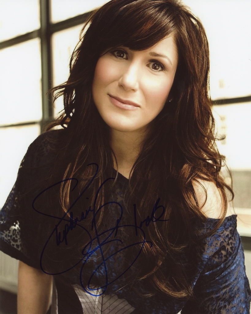Stephanie J. Block Signed Photo