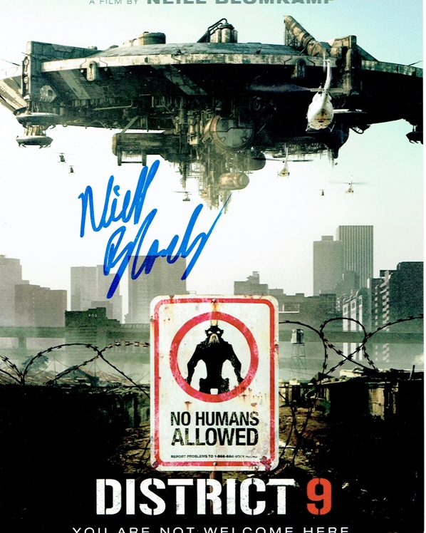 Neill Blomkamp Signed Photo