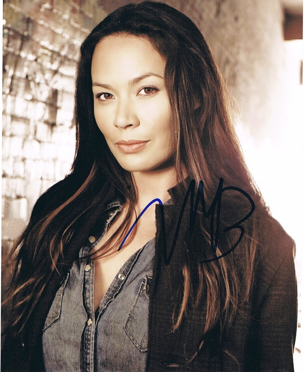 Moon Bloodgood Signed Photo