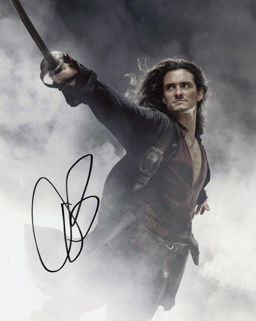 Orlando Bloom Signed Photo