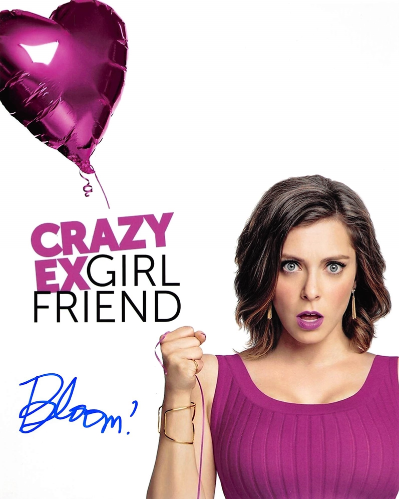 Rachel Bloom Signed Photo
