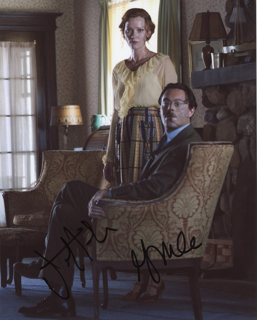 Jack Huston & Gretchen Mol Harris Signed Photo