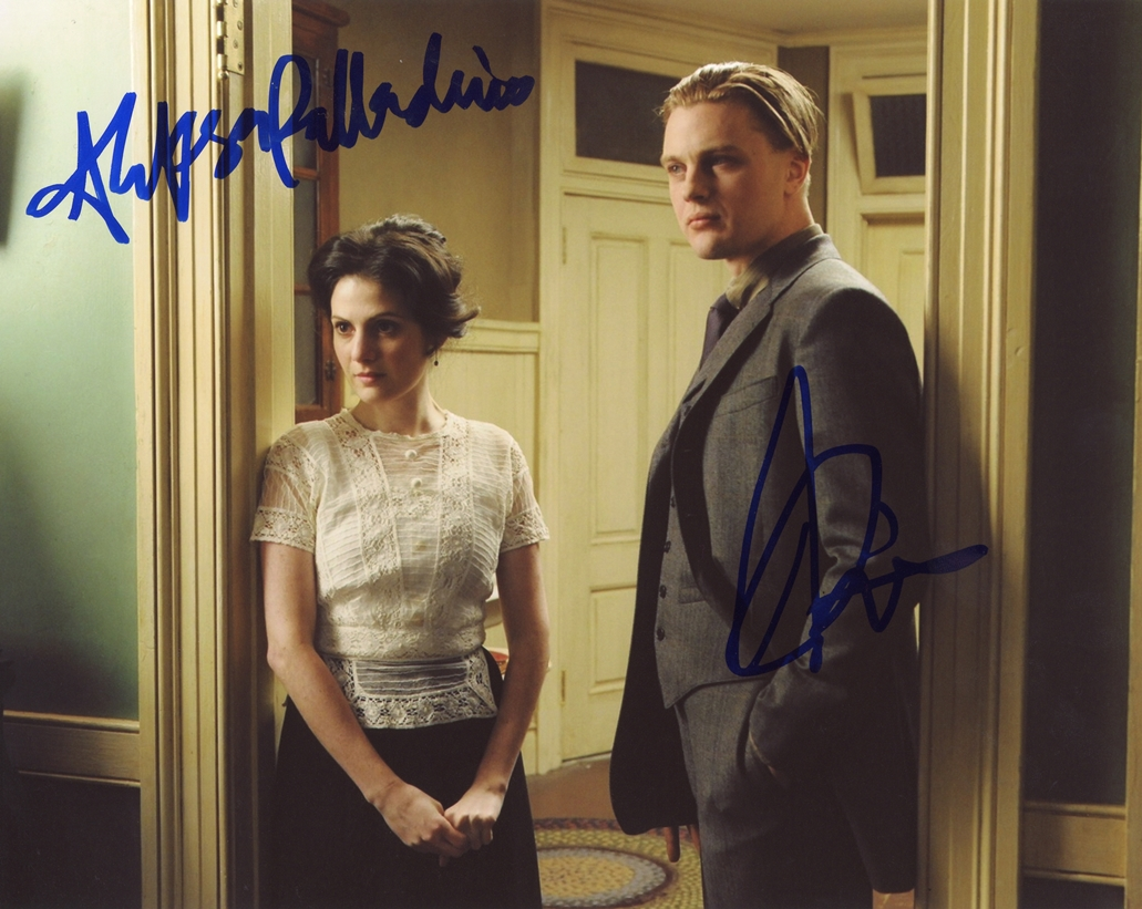 Michael Pitt & Aleksa Palladino Signed Photo