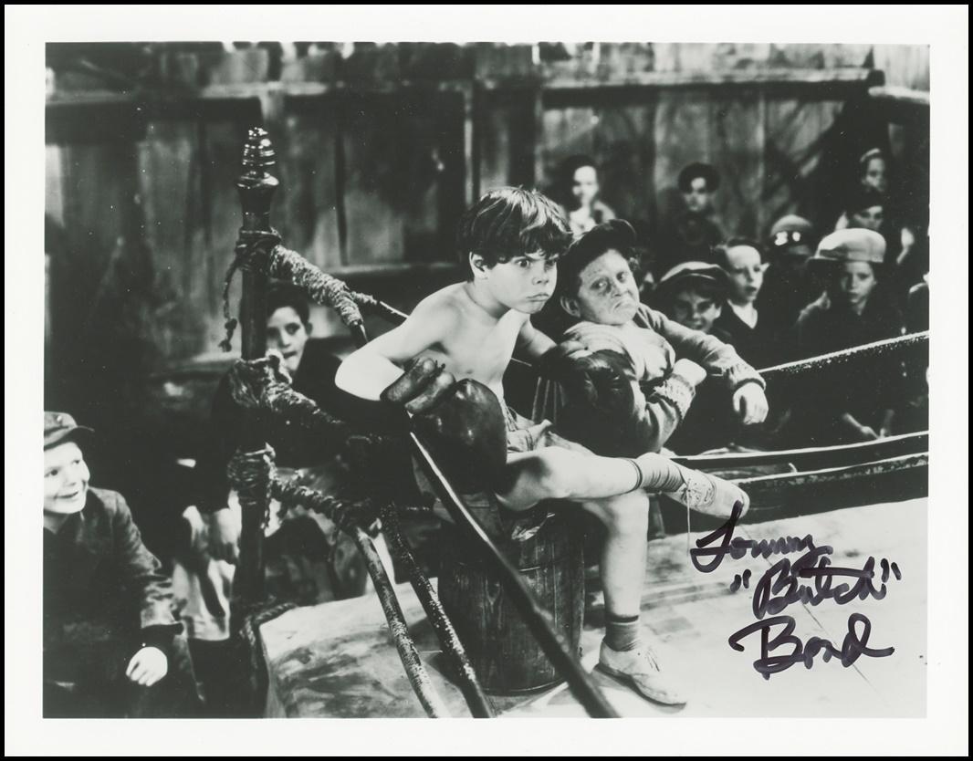 Tommy Butch Bond Signed Photo