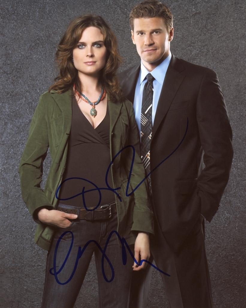 Bones Signed Photo