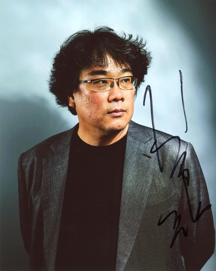 Bong Joon ho Signed Photo