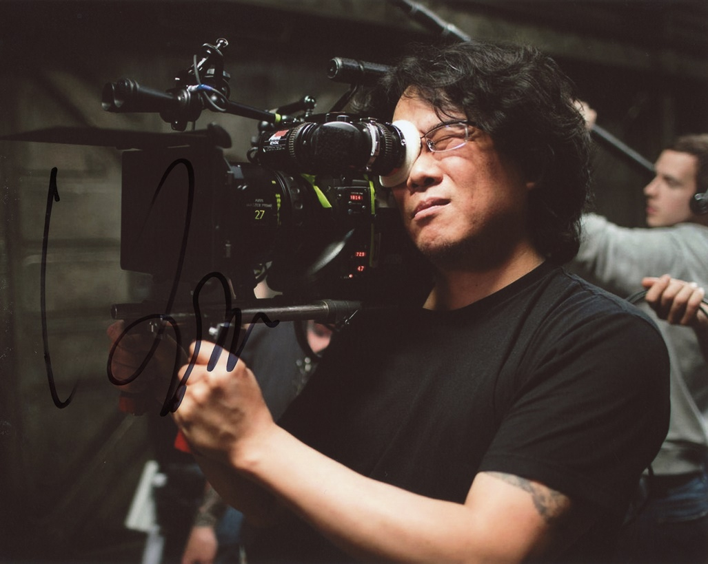 Bong Joon Ho Signed Photo