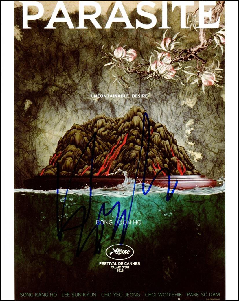 Bong Joon-ho Signed Photo