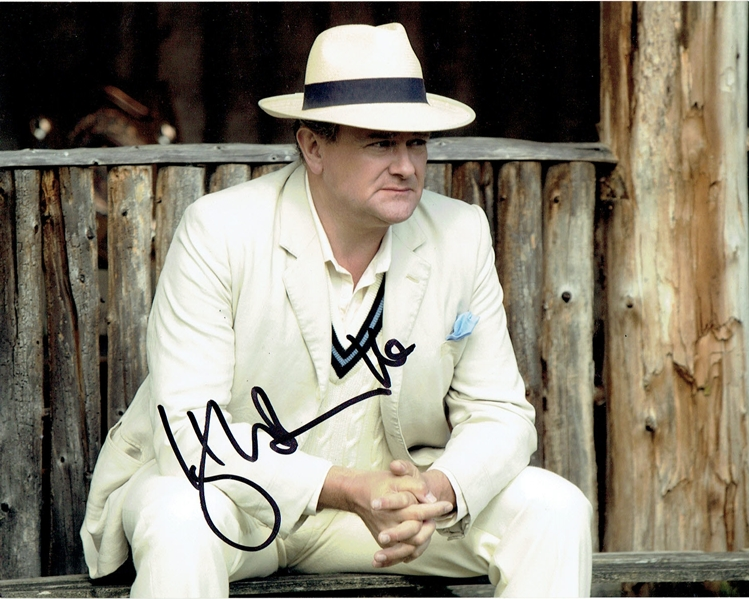 HUGH BONNEVILLE - Downton Abbey AUTOGRAPH Signed 8x10 Photo S