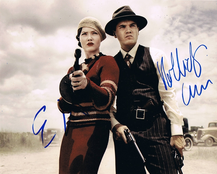 Holliday Grainger & Emile Hirsch Signed Photo