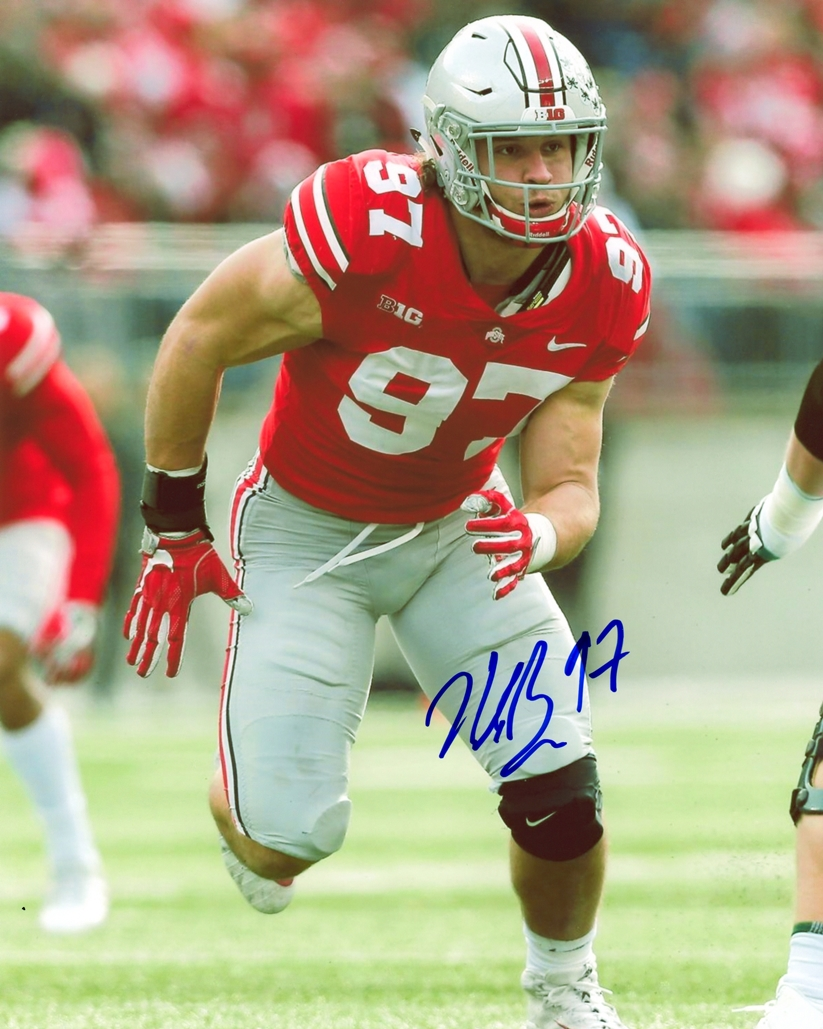 Nick Bosa Signed Photo