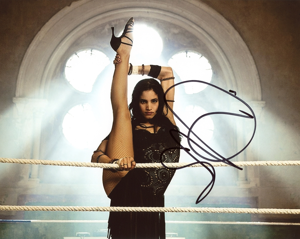 Sofia Boutella Signed Photo
