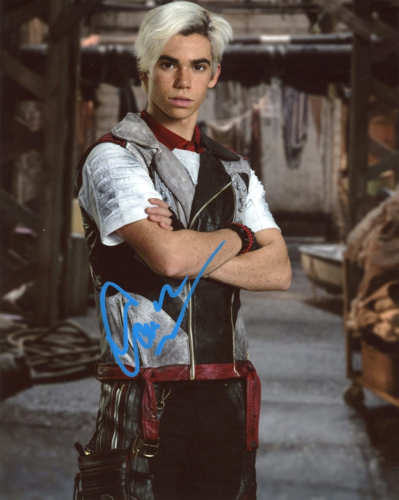 Cameron Boyce Signed Photo