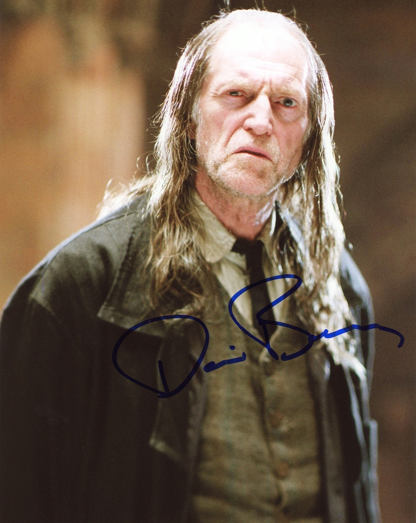 David Bradley Signed Photo
