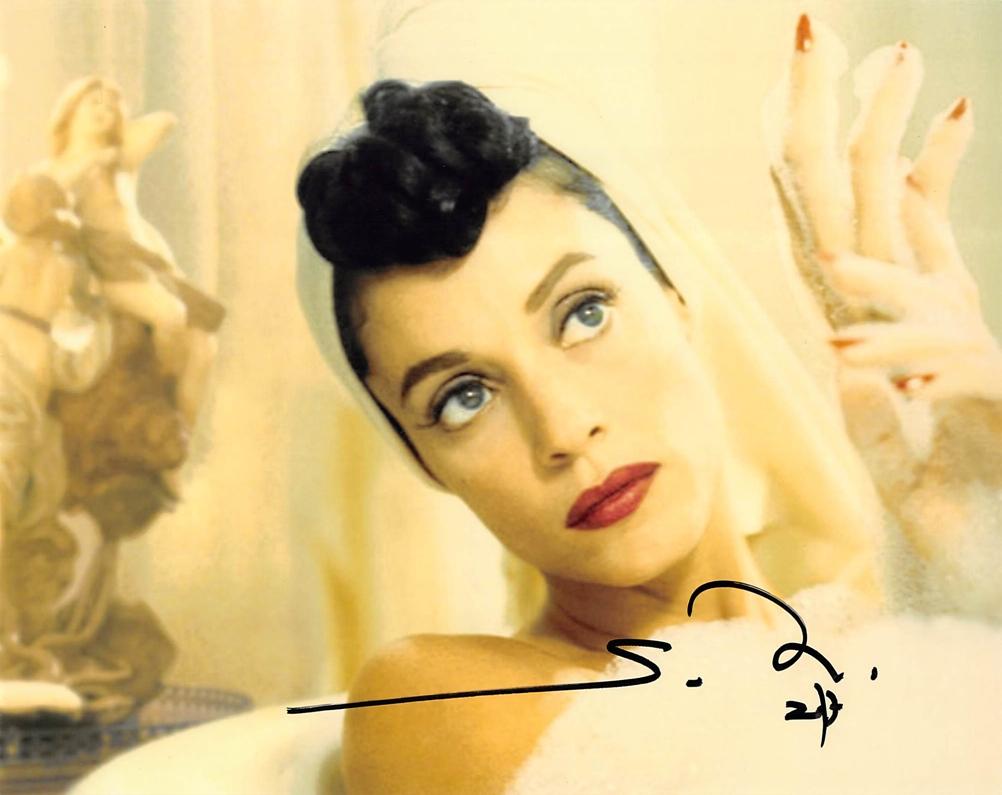 Sonia Braga Signed Photo