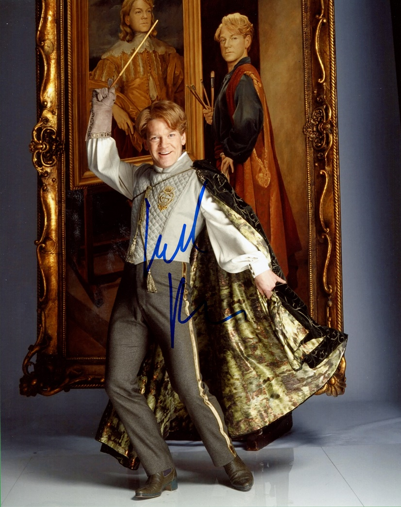 Kenneth Branagh Signed Photo