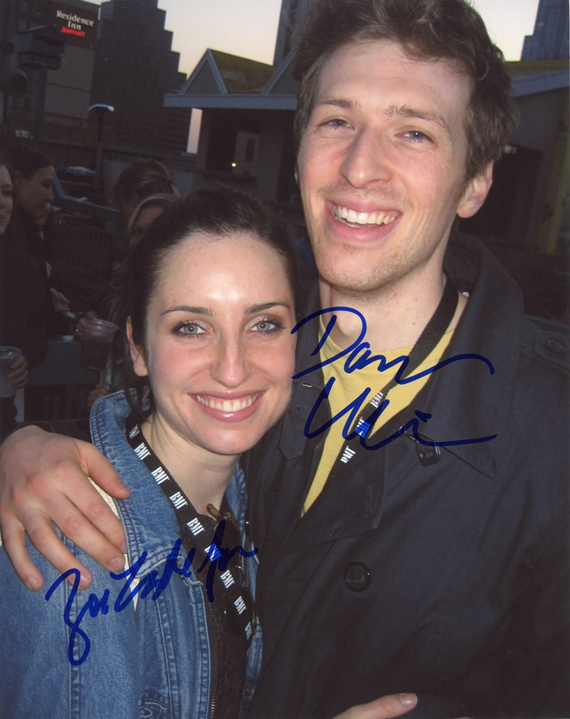Zoe Lister-Jones & Daryl Wein Signed Photo