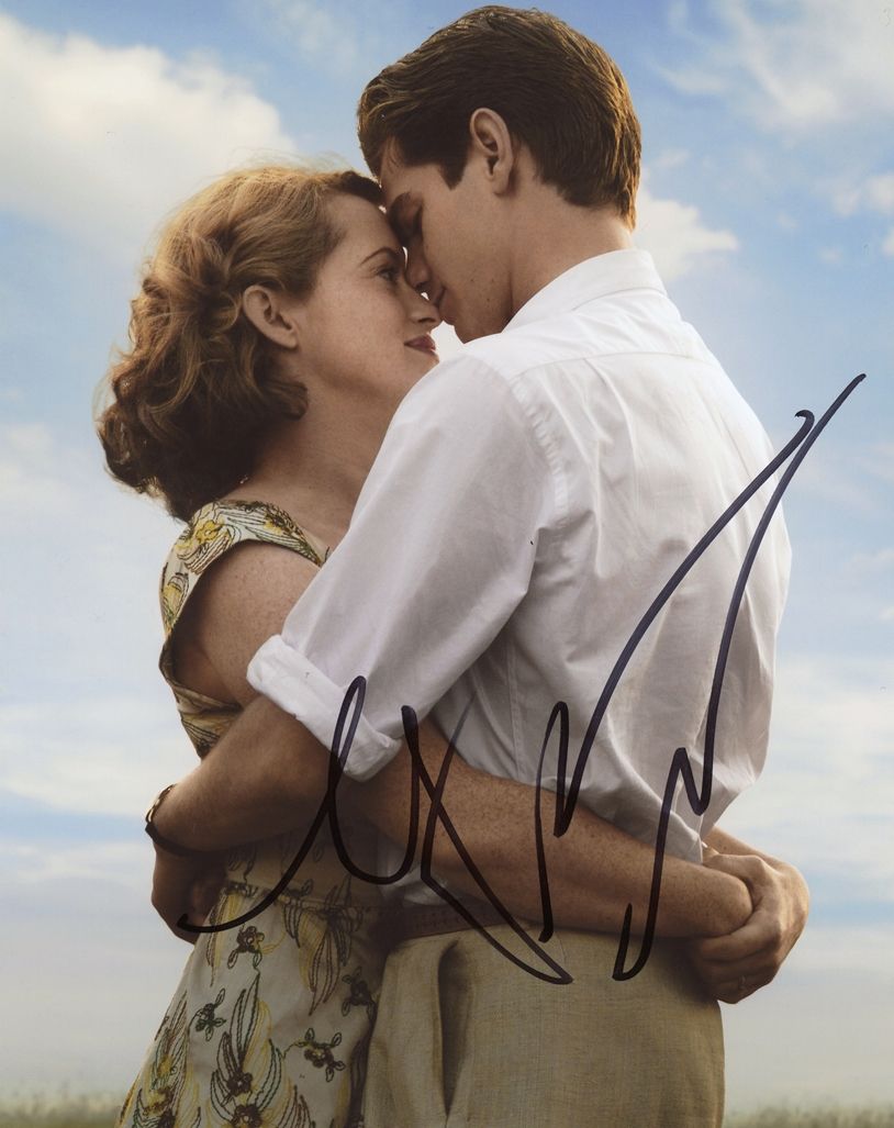 Andrew Garfield & Claire Foy Signed Photo