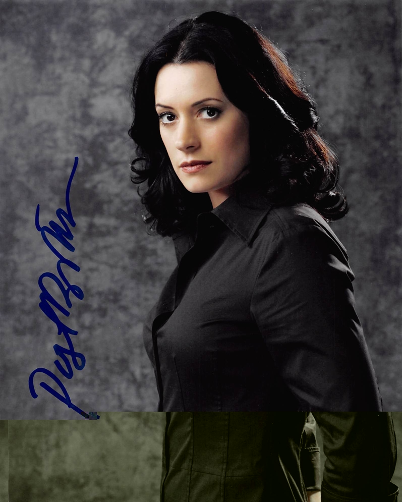 Paget Brewster Signed Photo