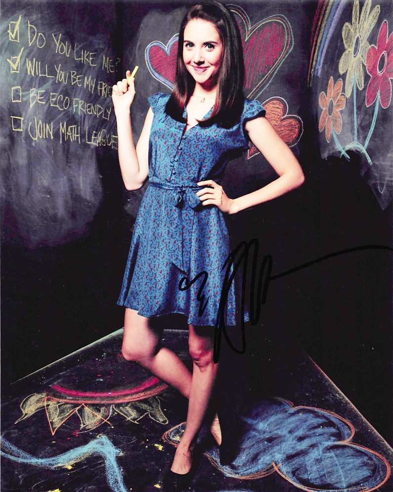 Alison Brie Signed Photo