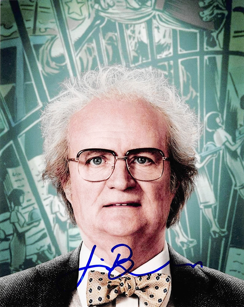 Jim Broadbent Signed Photo