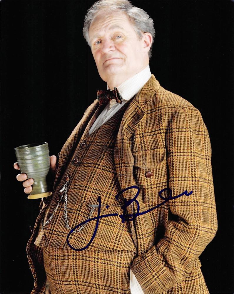 Jim Broadbent Signed Photo
