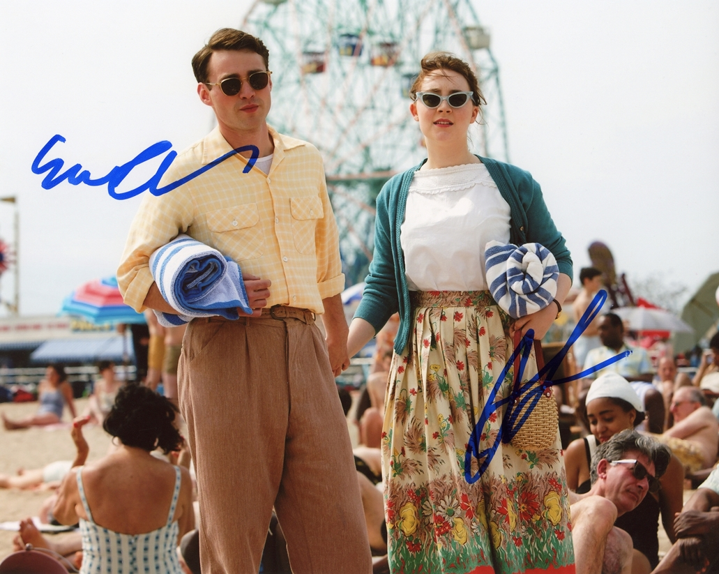Saoirse Ronan & Emory Cohen Signed Photo