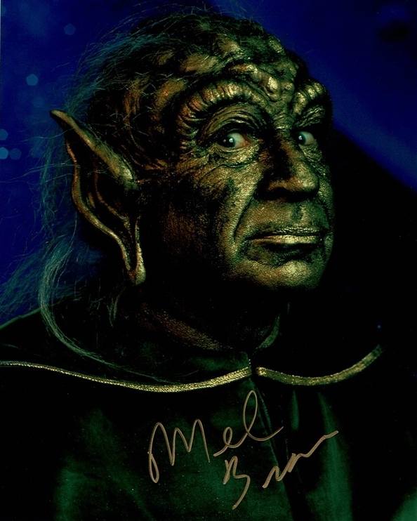 Mel Brooks Signed Photo