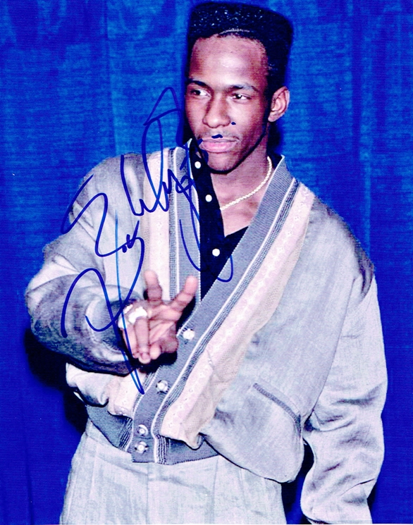 Bobby Brown Signed Photo