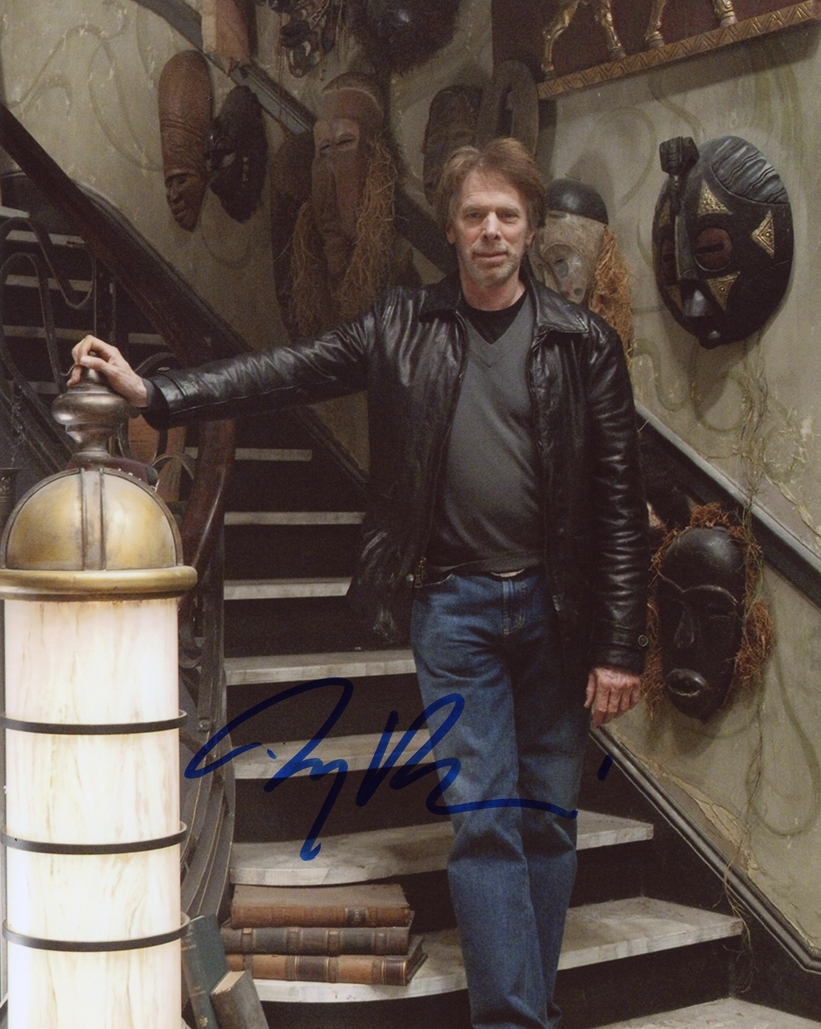 Jerry Bruckheimer Signed Photo