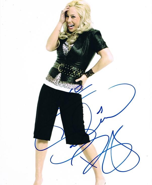 Sabrina Bryan Signed Photo