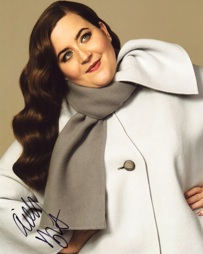 Aidy Bryant Signed Photo