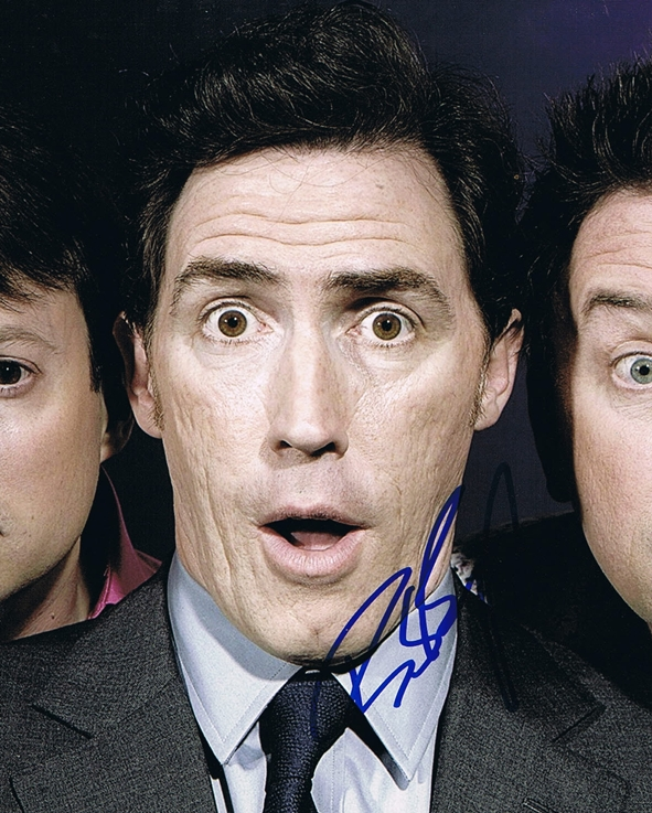 Rob Brydon Signed Photo