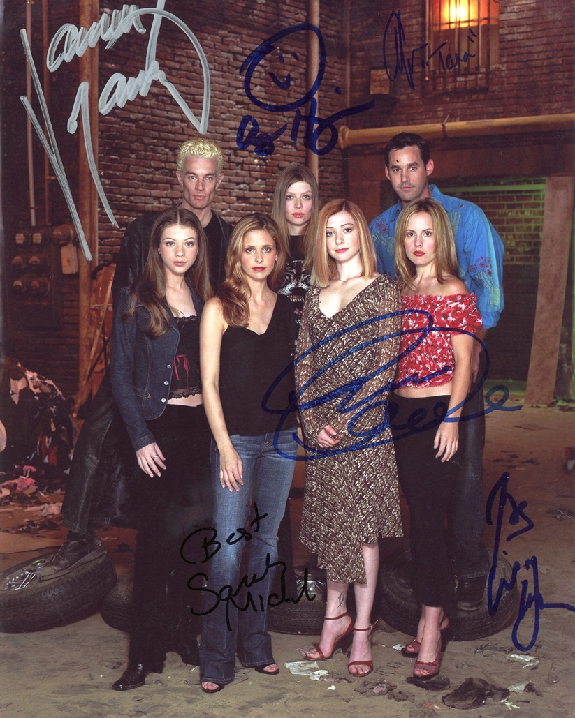 Buffy the Vampire Slayer Signed Photo