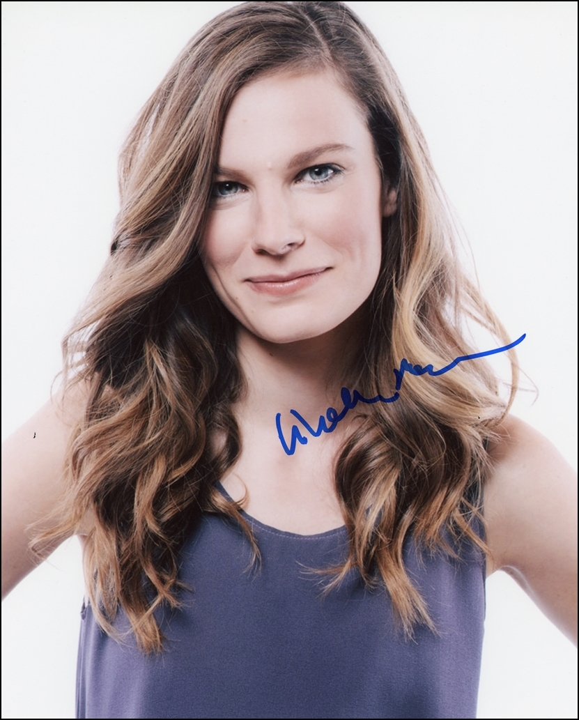 Lindsay Burdge Signed Photo