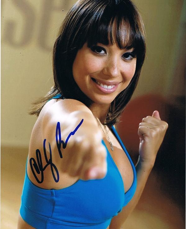 Cheryl Burke Signed Photo