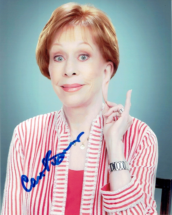 Carol Burnett Signed Photo