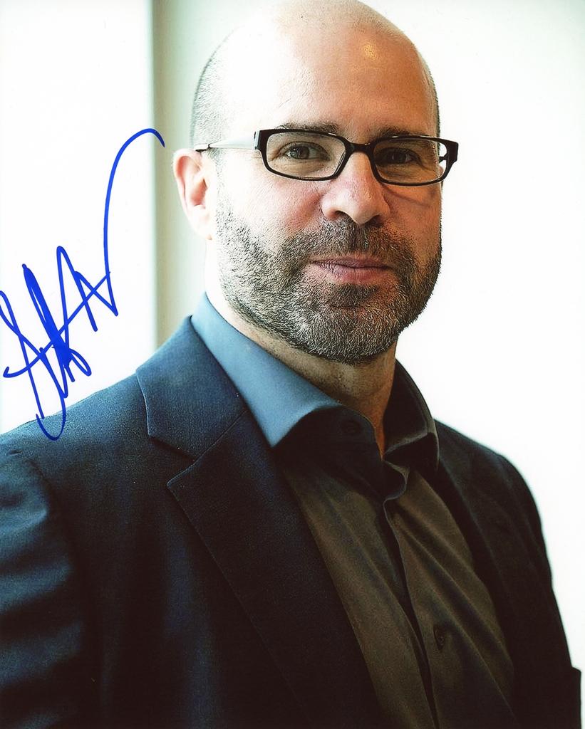 Scott Z. Burns Signed Photo