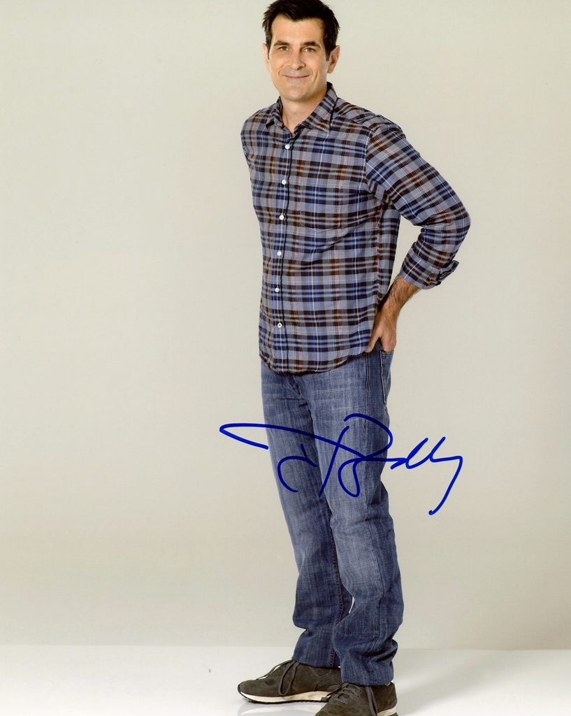 Ty Burrell Signed Photo
