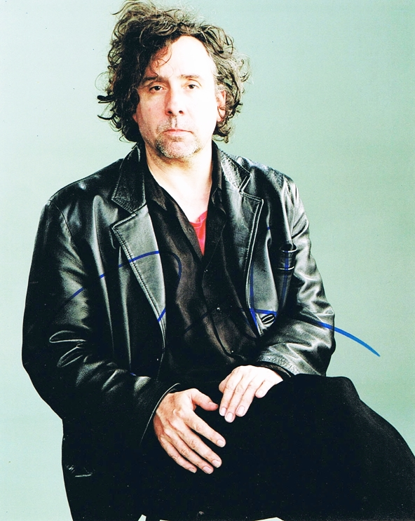 Tim Burton Signed Photo