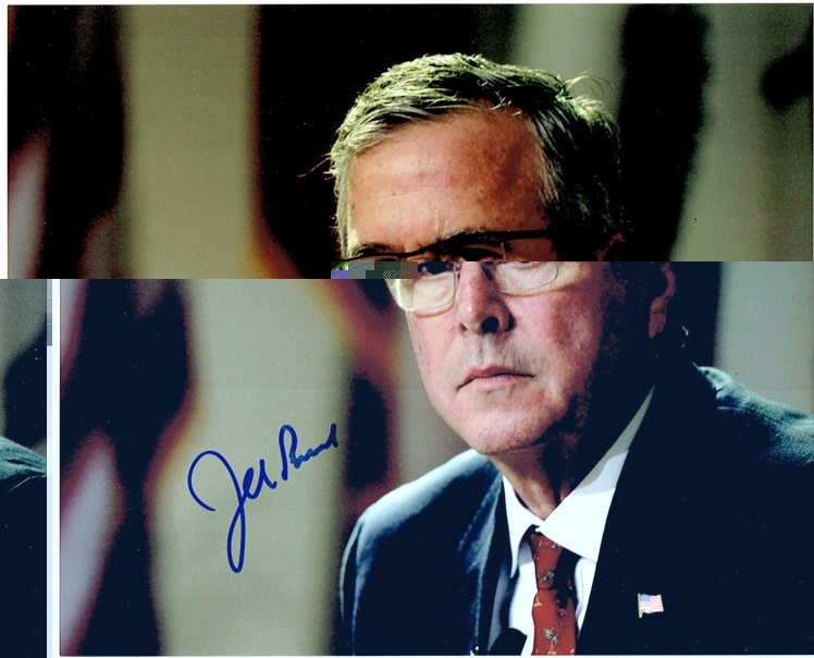 Jeb Bush Signed Photo