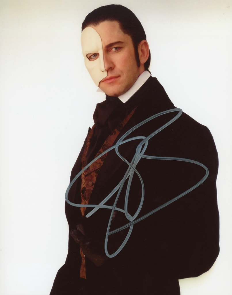 Gerard Butler Signed Photo