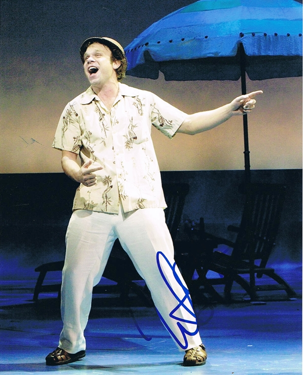 Norbert Leo Butz Signed Photo