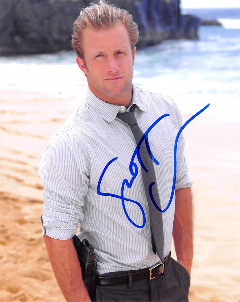 Scott Caan Signed Photo