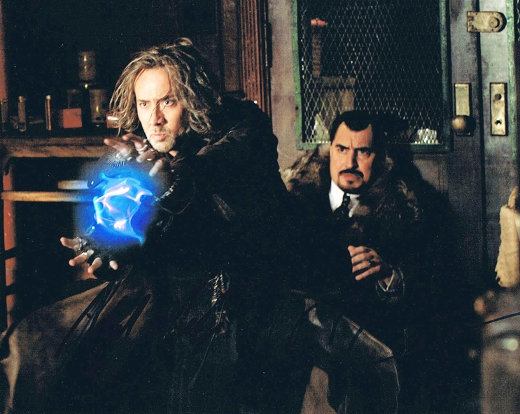 Nicolas Cage & Alfred Molina Signed Photo