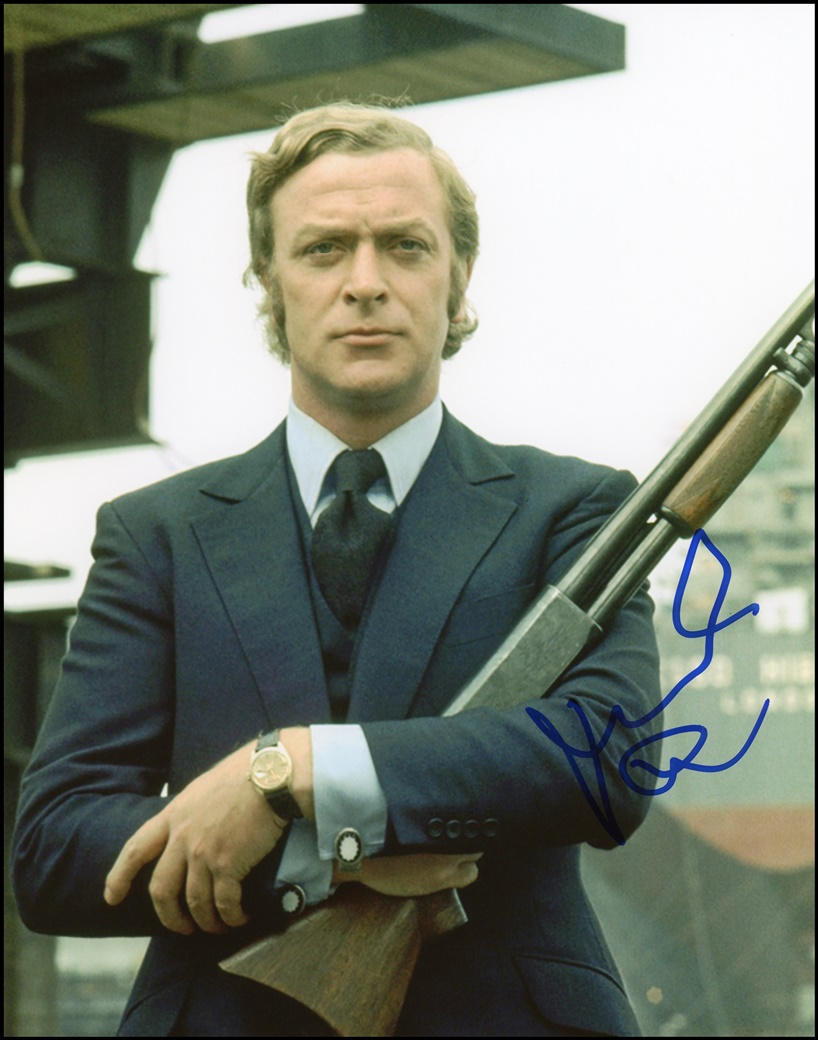 Michael Caine Signed Photo