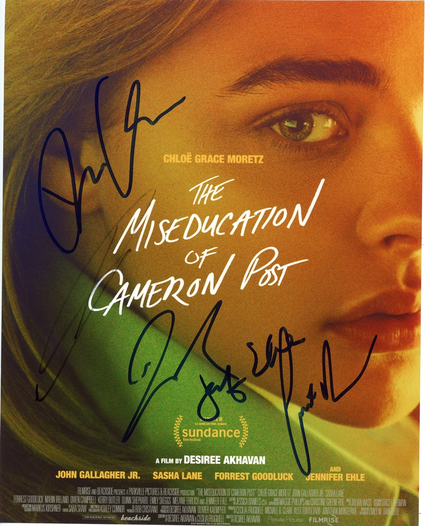 Miseducation of Cameron Post Signed Photo